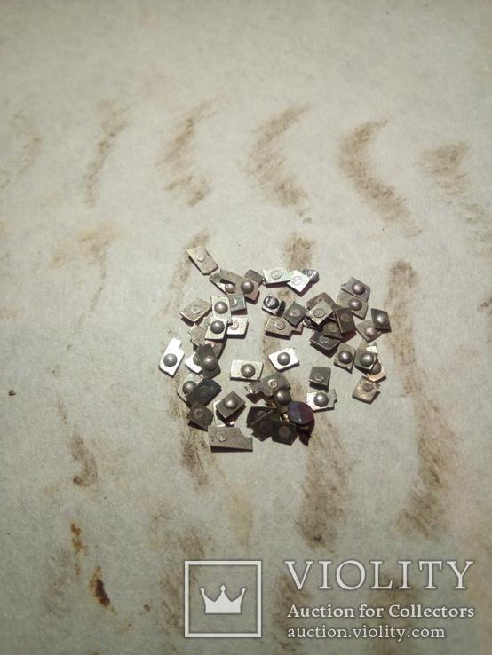 Серебро контактне немагнит 372.6 гр. магнит 141.76 гр + бонус обрезь, фото №9