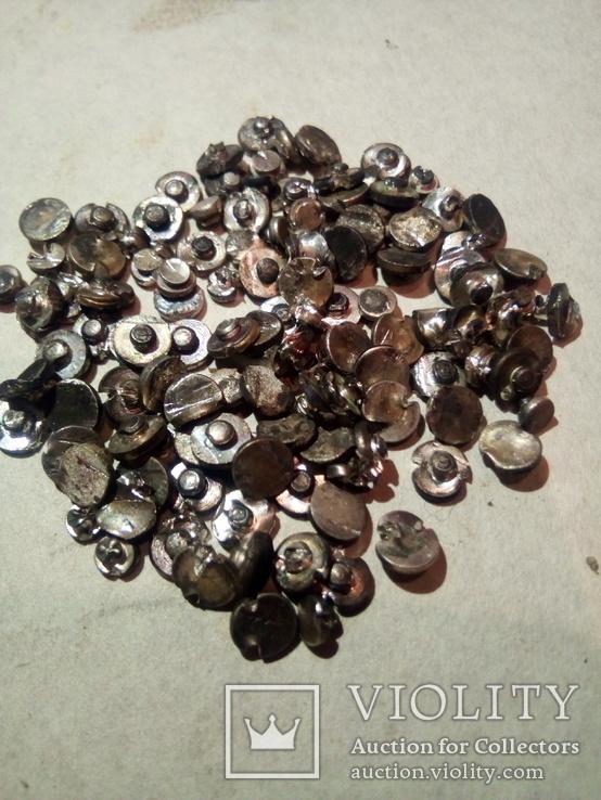 Серебро контактне немагнит 372.6 гр. магнит 141.76 гр + бонус обрезь, фото №11