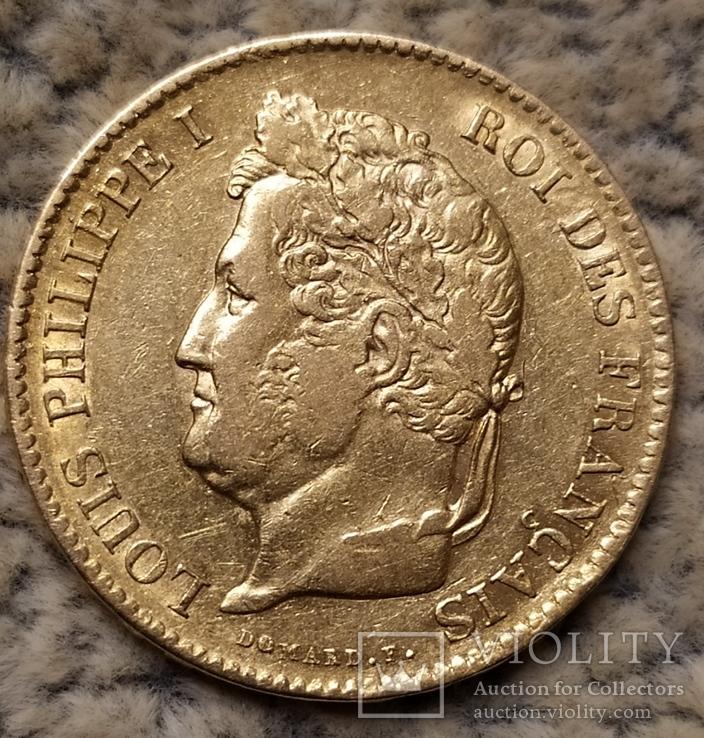 40 франков 1834г.
