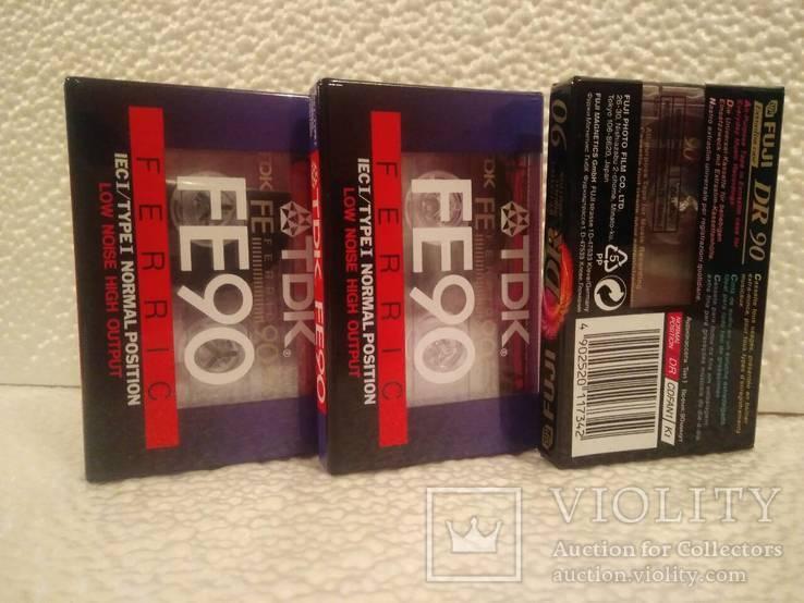 Новые аудиокассеты (9 шт), фото №3