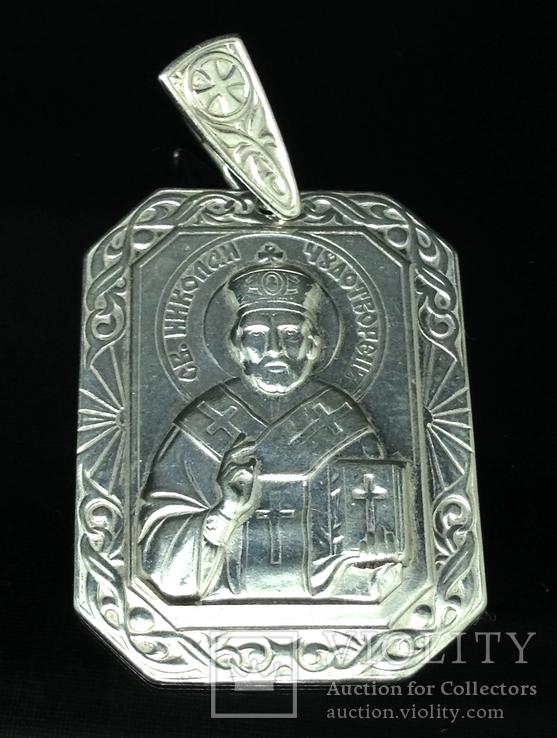 """Кулон-ладанка """"Николай Чудотворец"""", фото №2"""