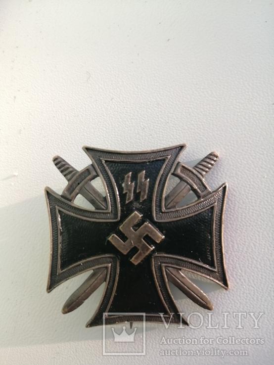 Железный Крест войск СС.фантазийный знак, фото №2