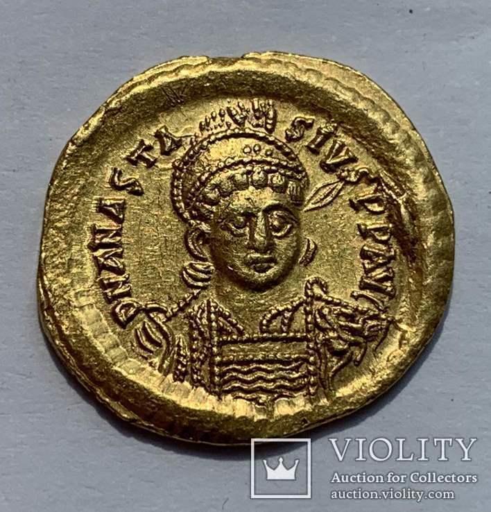 Солид 491-518гг. Анастасий I