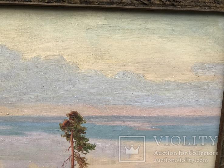 """Большая Картина """" Утес """". Холст, Масло., фото №9"""