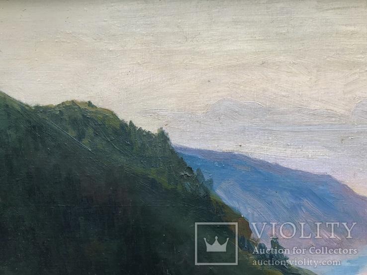 """Большая Картина """" Утес """". Холст, Масло., фото №13"""