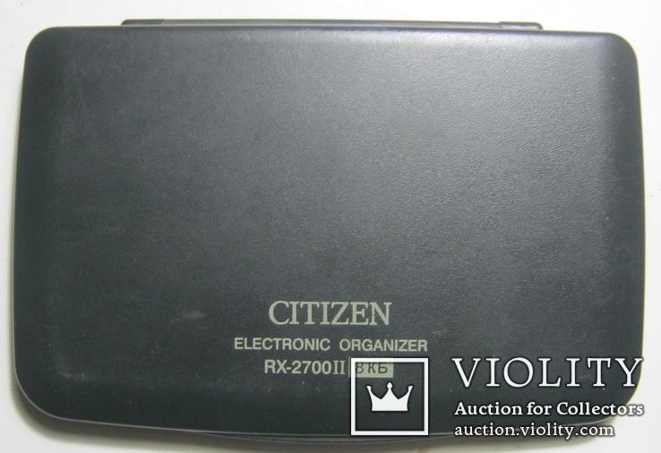Записная книжка citizen rx-2700 ii 8 кб, фото №4