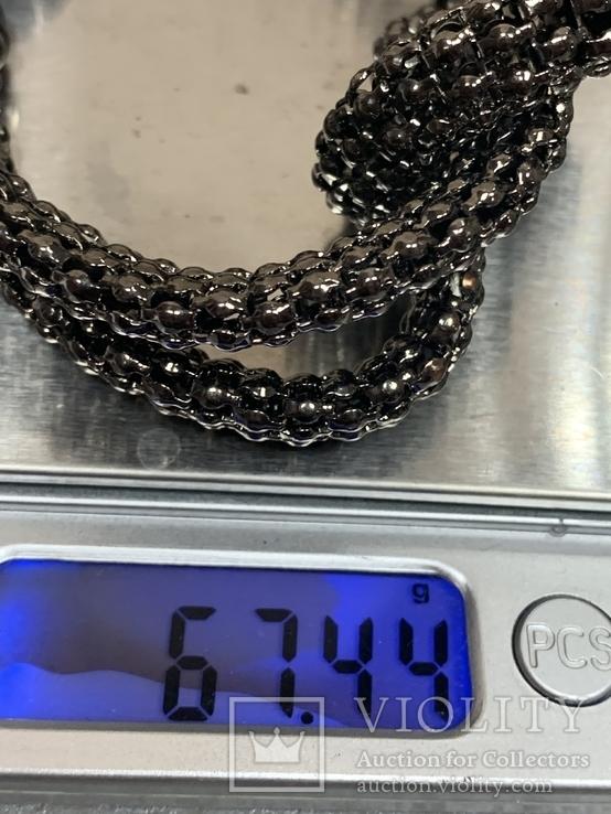 Браслет металический 67 грамм, фото №5
