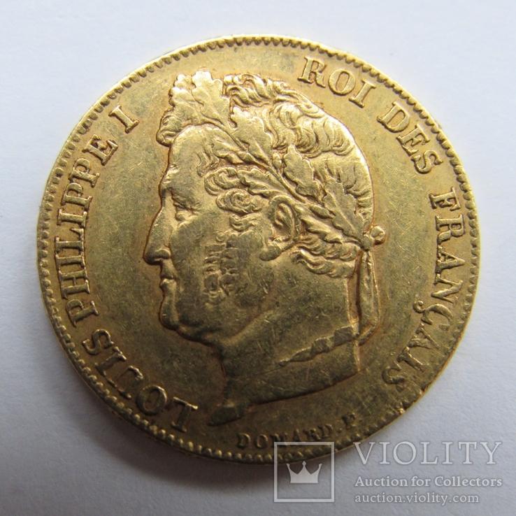 20 франков 1840 г. Франция