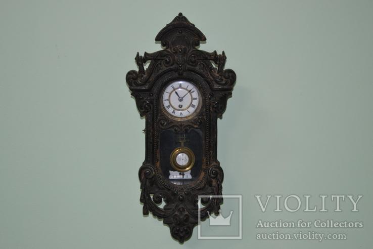 Часы из Папье Маше, мини размер.