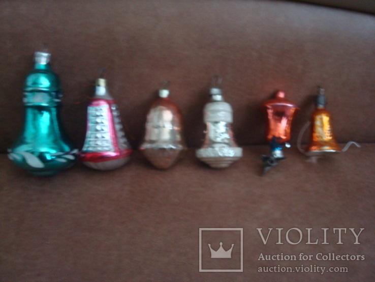 Ёл.игрушки СССР,стекло,колокольчики, фото №3