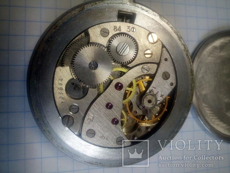 Часы карманные Молния. На запчасти или восстановление., фото №7
