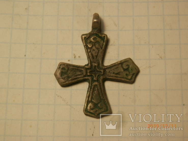 Крест скандинавского типа серебро копия, фото №2