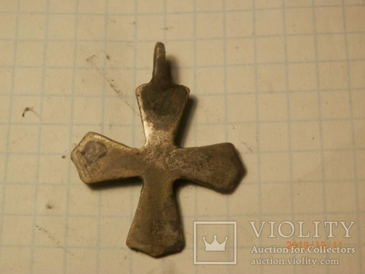 Крест скандинавского типа серебро копия, фото №4