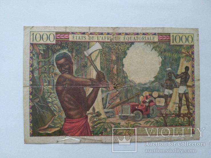 Чад 1000 франков, фото №3