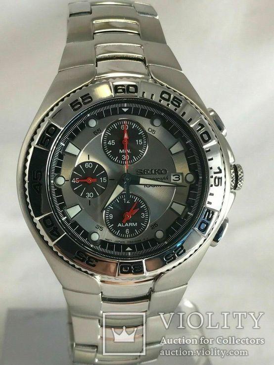 Хронограф Seiko Sport Chronograph Diver SNA625P1 Alarm 7T62-0FT0, фото №2