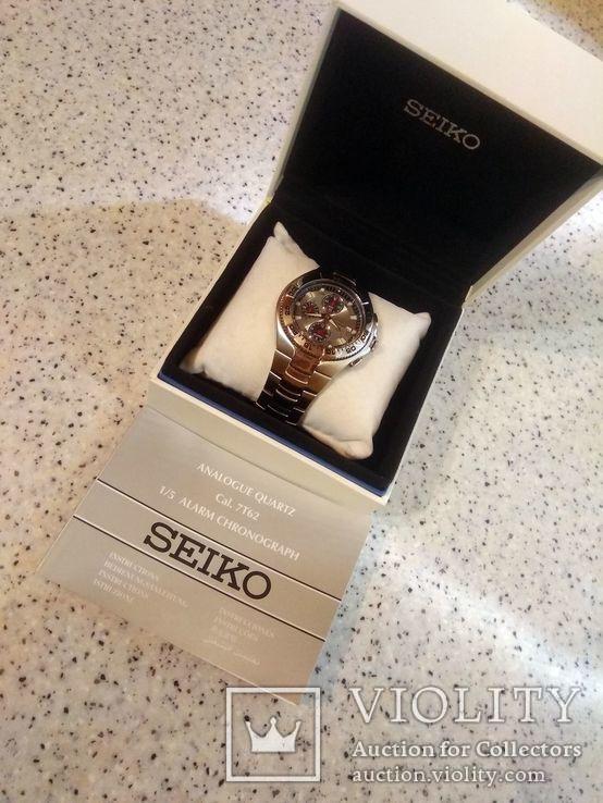Хронограф Seiko Sport Chronograph Diver SNA625P1 Alarm 7T62-0FT0, фото №11