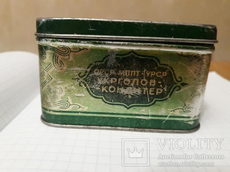 Банка жестянная от грузинского чая, фото №6