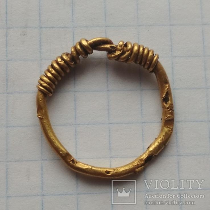 Височин кольцо ЧК AU, фото №3