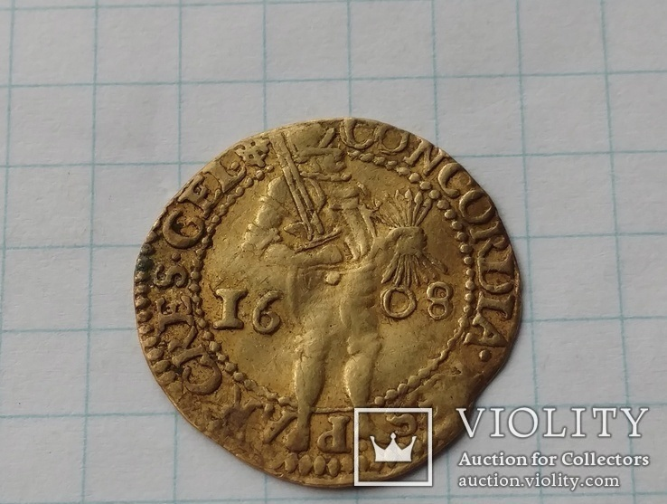Дукат 1608 Гелдерланд Нидерланды