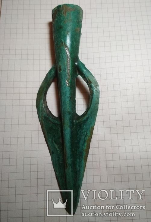 Накінечник списа зрубної культури 1550-1260 рр. до н.е. типу