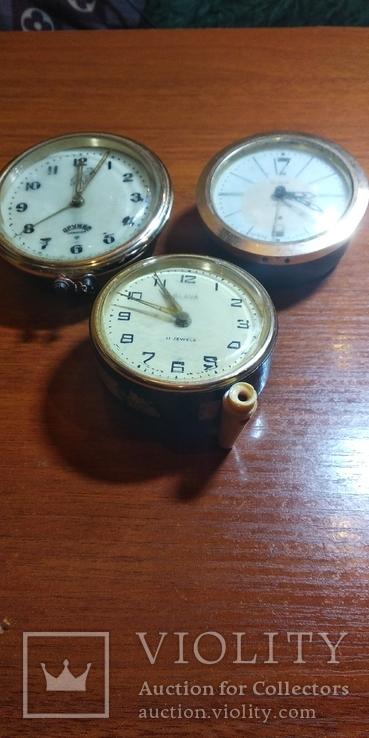 Часы настольные, будильники 3шт., фото №3