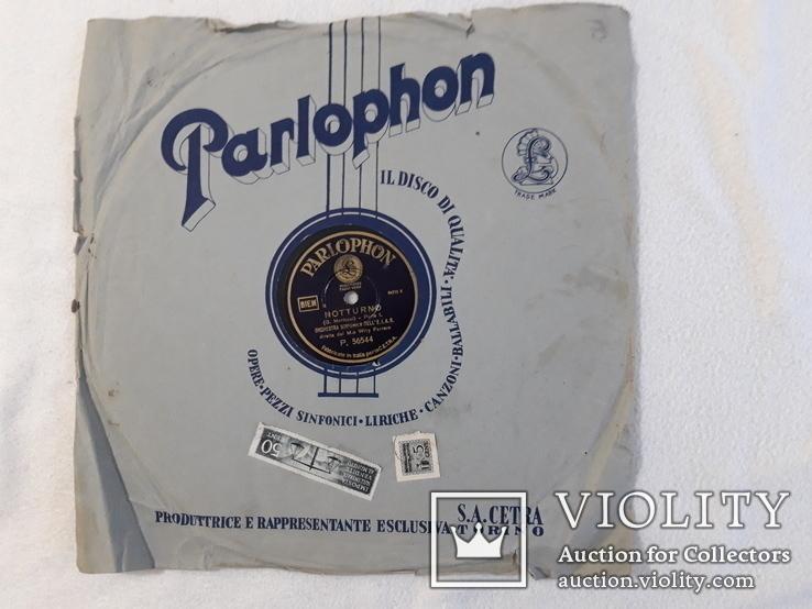 Parlophon Парлофон 1920s 1930s в конверте, фото №2