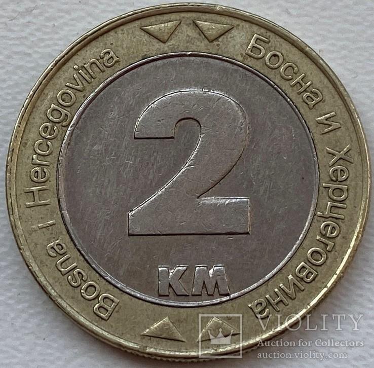 Босния и Герцеговина 2 км 2008 год, фото №3