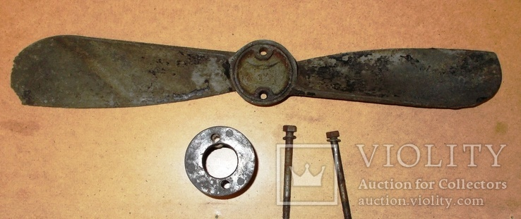 Вентилятор радиатора довоенного автомобиля., фото №2