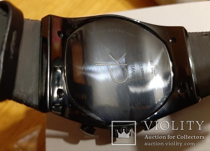 Швейцарський годинник Calvin Klein K4B374B3 кварц. Хронограф, фото №5