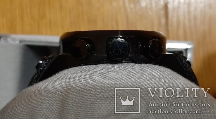 Швейцарський годинник Calvin Klein K4B374B3 кварц. Хронограф, фото №10