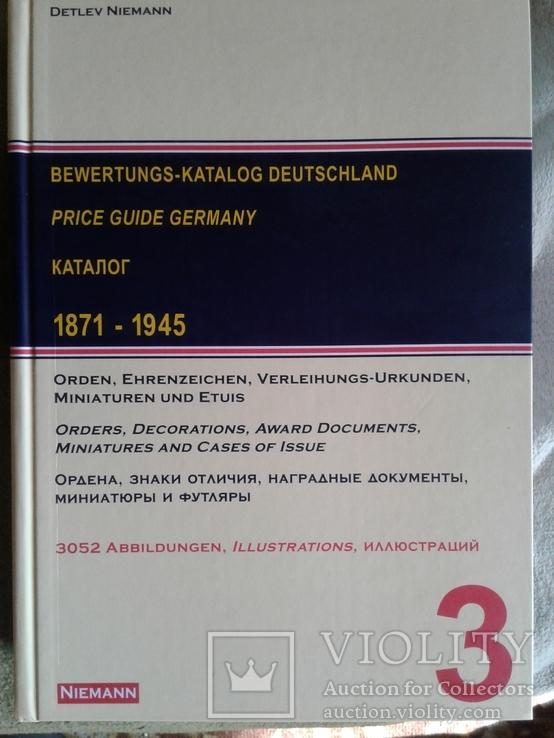 Каталог наград Германии .Детлев Ниеман., фото №2