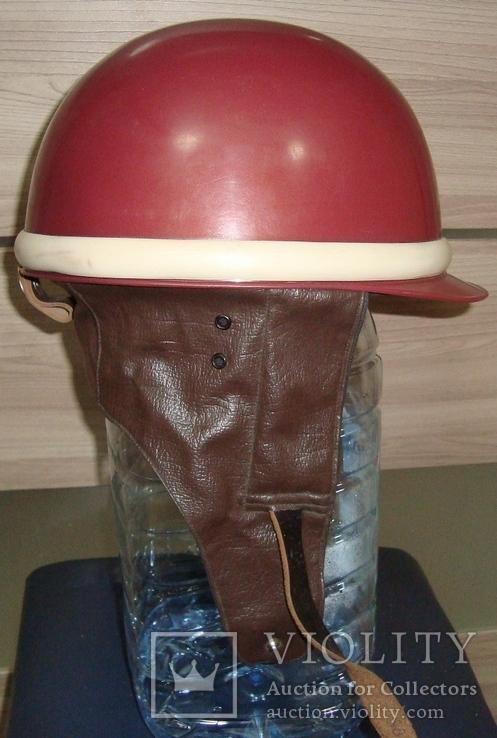"""Шлем мотоциклетный""""моргуновка"""", размер:58-59.Завод""""буревестник"""", фото №3"""