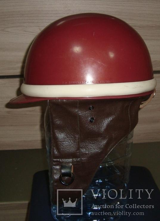 """Шлем мотоциклетный""""моргуновка"""", размер:58-59.Завод""""буревестник"""", фото №5"""