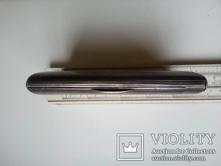 Портсигар Хлебникова серебро 84 пр. 196гр. позолота, фото №9