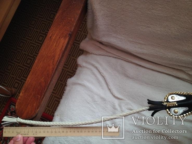 Камча нагайка плетка Казахская новая сувенир козья ножка, фото №10