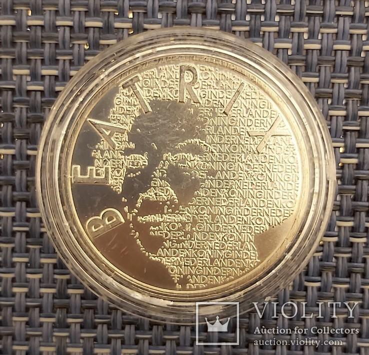 5 евро Нидерланды, 2003год, серебро, фото №4