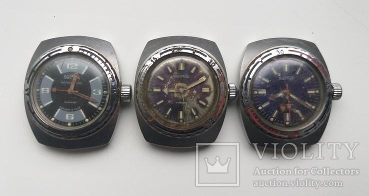 Часы Восток Амфибия антимагнитные, фото №2