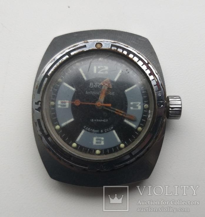 Часы Восток Амфибия антимагнитные, фото №4