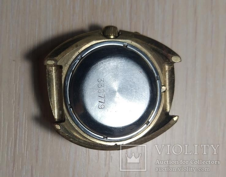 Часы СЛАВА косая асимметричная автомат AU 10, фото №7