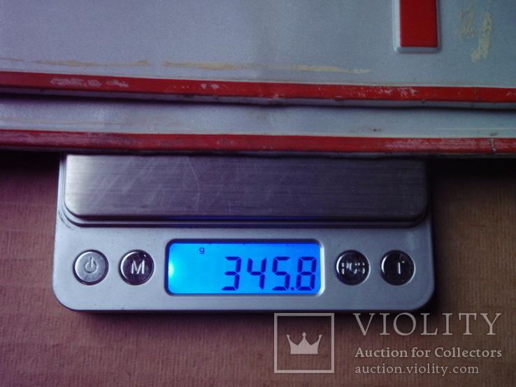 Два номера.  W8 1963 . Алюміній ( 345 грам ), фото №6