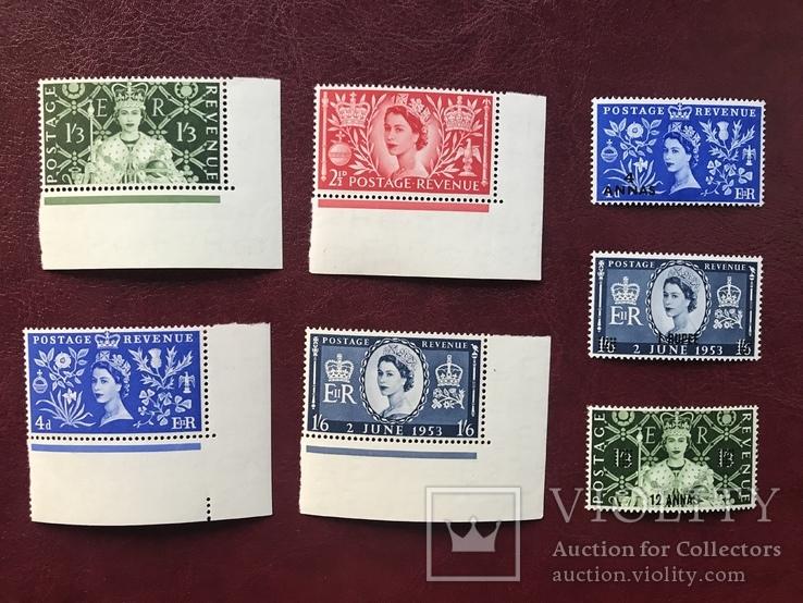 Британия. 1953-1955 года., фото №2