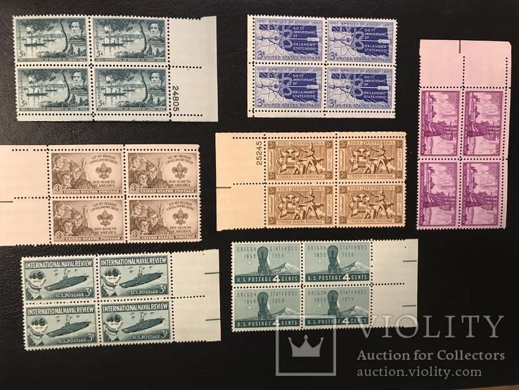 Сцепки марок США., фото №2