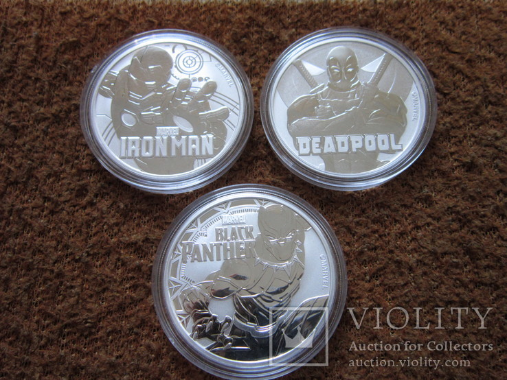 Железный человек Айрон мэн Iron Man марвел и Дэдпул Deadpool Marvel и Чёрная пантера, фото №4
