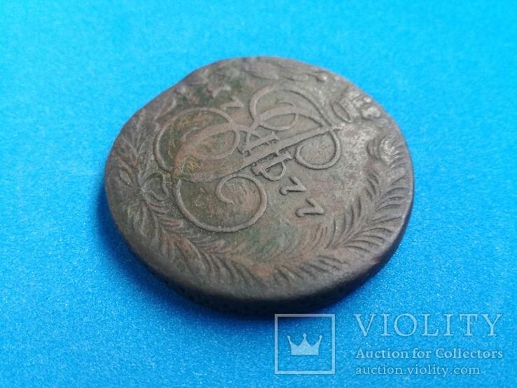 5 копеек 1777 год ЕМ, фото №4