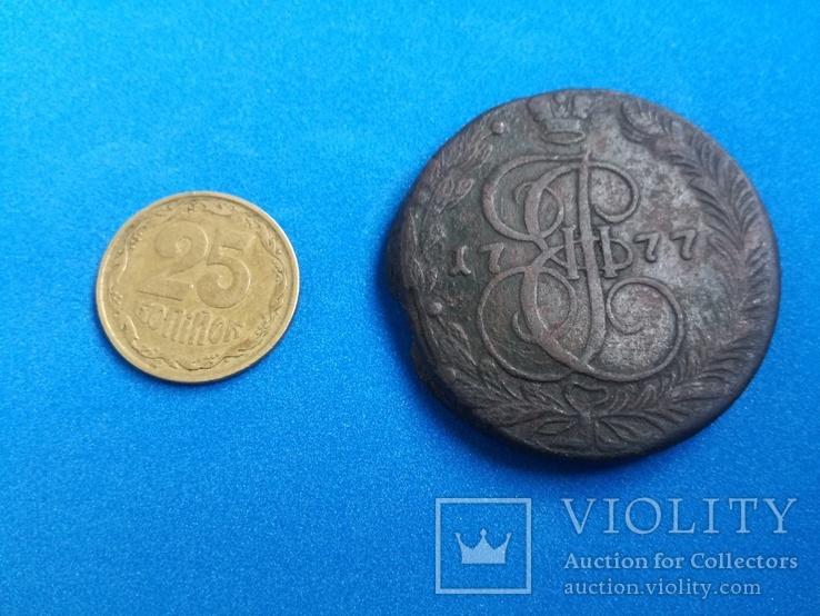 5 копеек 1777 год ЕМ, фото №6