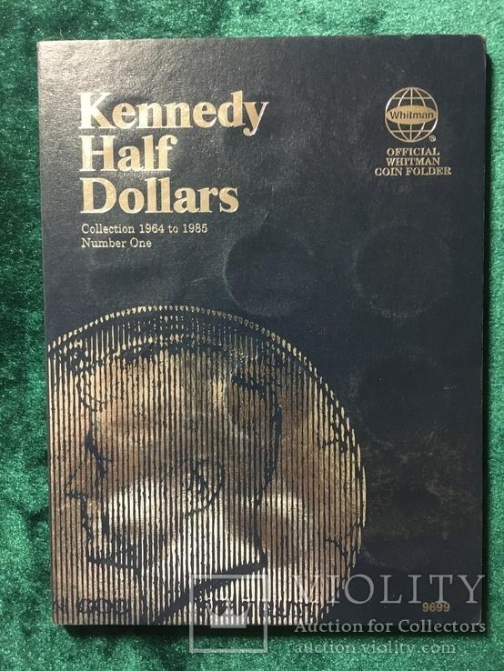 Альбом для монет США 50 центов с 1964 по 1985, фото №2