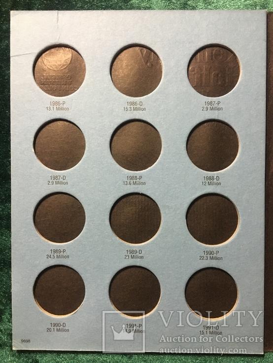 Альбом для монет США 50 центов с 1986 по 2003, фото №4
