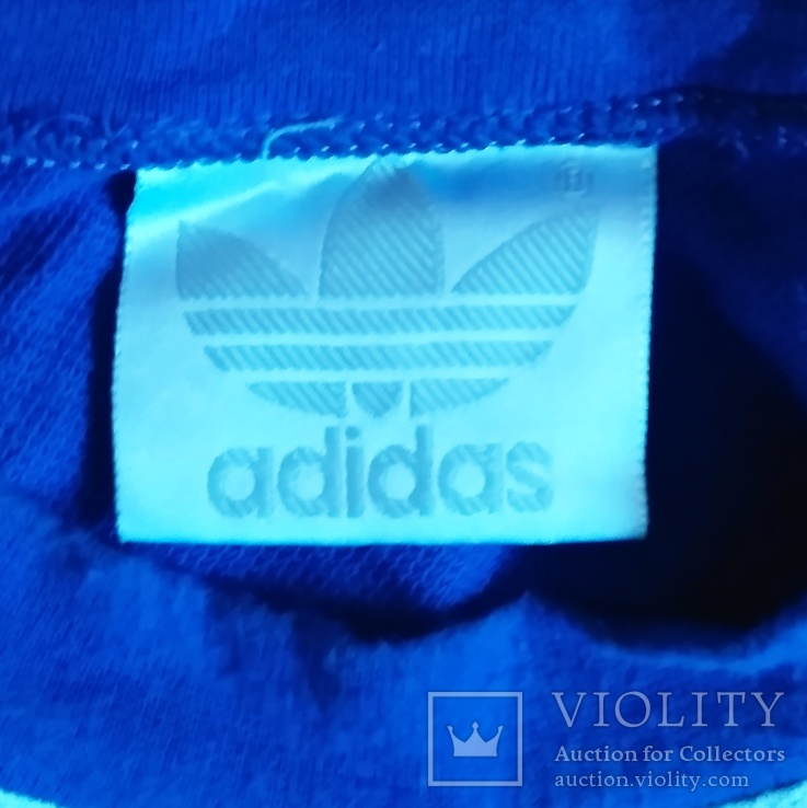 Винтажная спортивная футболка adidas, фото №3