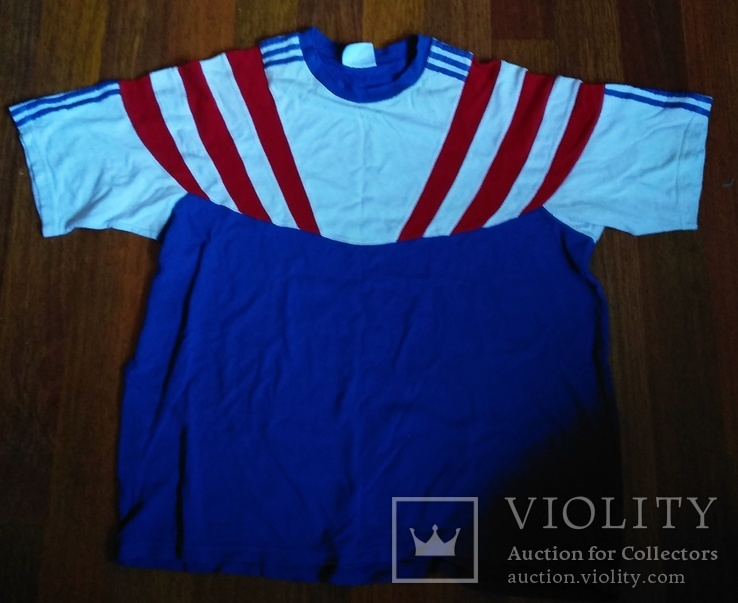 Винтажная спортивная футболка adidas, фото №2