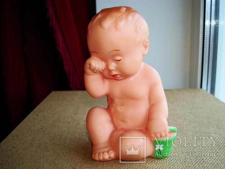 Плачущий Мальчик Загреб Югославия середина ХХ-го века высота - 13.5см., фото №4